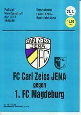 OL 88/89 FC Carl Zeiss Jena - 1. FC Magdeburg, RS-B