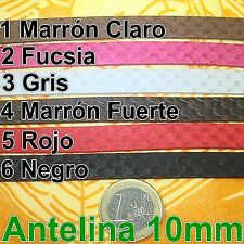 2 Metros de Cordón Antelina 10mm Color a Escoger Abalorios Bisuteria A119 suede