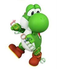 "5"" Super Mario Bros YOSHI Poseable Figure Doll Green"