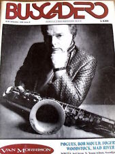 Buscadero 95 1989 Van Morrison Pogues Bob Mould Fogerty MAD River