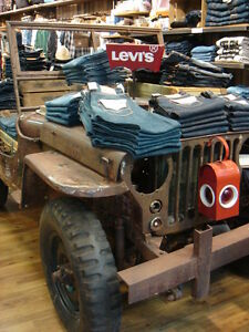 willys jeep for display