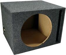 "Car Audio Single 12"" Vented Subwoofer Stereo Sub Box Ported Enclosure 5/8"" Mdf."