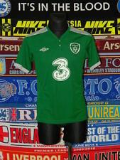 5/5 Ireland (Eire) adults S mint football shirt jersey soccer