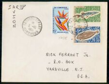 Mayfairstamps Cameroon 1968 Fish Combo Yaounde to Yardville NJ Cover wwf_90371