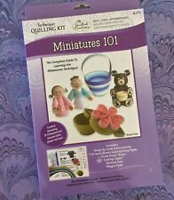 Spiral Blossoms Template by Quilled Creations 3 Size Spiral Roses Pattern NIP