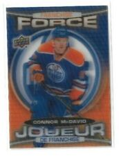 2016-17 UPPER DECK TIM HORTONS FRANCHISE FORCE #FF4 CONNOR MCDAVID UD OILERS