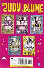 JUDY BLUME 5 BOOK SET  DEENIE, END OF THE WORLD, RACHEL ROBINSON, THEN AGAIN ETC