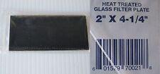Welding Helmet Glass Filter Lens Plate 2 X 4 14 Shade 9 Dark Qty 3