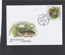 Estonia  2016 Mouse First Day Cover FDC Tallin special h/s