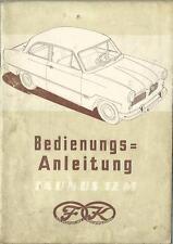 FORD TAUNUS 12M Betriebsanleitung 1953 1954 Weltkugel Handbuch Bordbuch G13 BA