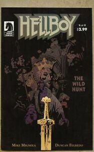 Hellboy The Wild Hunt #6-2009 vf 8.0 Mike Mignola / Dark Horse