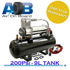 500 Air compressor 12V+ 9L tank + Rocker Switch + Pressure Switch Full System