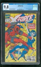 CGC 9.8 X-FORCE #11 MARVEL COMICS 1992 1ST APPEARANCE REAL DOMINO DEADPOOL 2 a