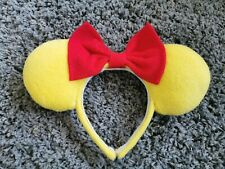 Disney Winnie The Pooh Inspired Minnie Mouse Ears Headband *slight glue mark