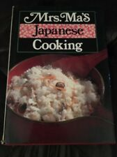 Mrs MA's Japanese Cooking Cookbook 1980 Vintage Ma Japan