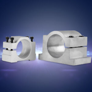 52mm/65mm Spindle Motor Mount Bracket Clamp f/ CNC Engraving Machine Grind IS