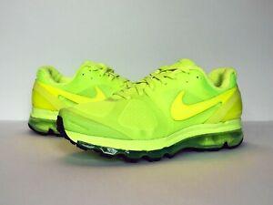 """Nike Air Max 2010 """"Volt"""" Neon """"Air Attack"""" 386368-700 Mens Size 10.5"""
