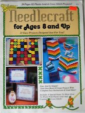New listing Needlecraft for Ages 8 and Up Counted Cross Stitch Plastic Canvas 21 Projects