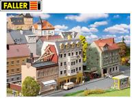 Faller H0 191748 Stadthäuserzeile Breitestraße - NEU + OVP