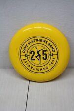 Dave Matthews Band Frisbee Burning Man 25 years 1991-2016 Yellow 6oz