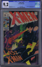 X-Men # 59 Marvel 1969 CGC 9.2 (NEAR MINT - ) Quicksilver & Scarlet Witch, Adams
