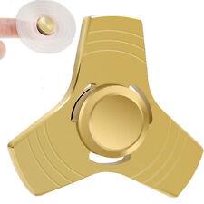 STAINLESS METAL HAND SPINNER FIDGET CERAMIC HYBRID BEARING DESK TOY 2 MIN SPIN