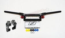 Fasst Flexx Flex 12 Degree Enduro High Handlebar Silver Pad + Rox Riser Fast