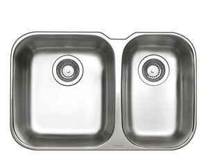 Blanco 1 & 1/2 Double Bowl Undermount Sink ESSENTU1/5K5