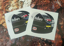 James Hunt Helmet F1 Sticker Formula 1 hesketh 50mm x 50mm