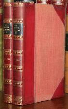 1907 Die Blaue Laterne Paul LINDAU 2 Vols First Edition Half Leather German