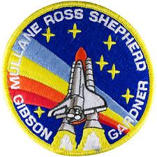 NASA Astronaut Robert 'Hoot' Gibson STS-27 Space Shuttle Atlantis Patch