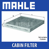 MAHLE Carbon Activated Pollen Air Filter (Cabin Filter) - LAK630/S (LAK 630/S)