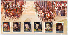 2008 GB, Houses of Lancaster and York inc Mini Shheet  Presentation Pack, No.409