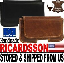 # RICARDSSON HANDMADE GENUINE LEATHER WAIST POUCH CASE COVER FOR APPLE IPHONES