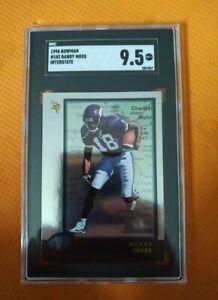 1998 Bowman Randy Moss Minnesota Vikings #182 Football Card Interstate SGC 9.5