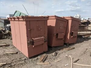 Metal Bear Proof Storage Containers