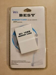 16MB Memory Card for Wii and GameCube