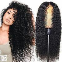 Curly Brazilian Virgin Human Hair Wigs 360 Lace Frontal/Silk Top Full Lace Wigs