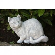 Gato Sentado Figura Animal de piedra moldeada