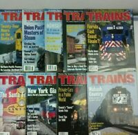 Trains Magazines 1996 (lot of 10) Missing May and December