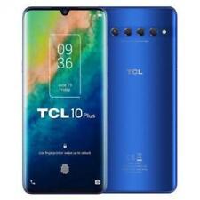 "Smartphone Tcl 10 Plus 6GB RAM 256GB 6.47"" Moonlight Blue Dual Sim Italia"