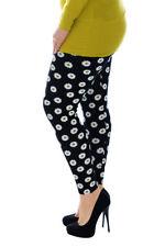 Plus Size Floral Leggings for Women