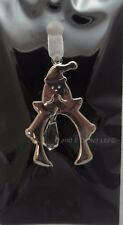 Christmas Tree Decorations Silver with Crystal Tree Decorations 8 Designs NEW