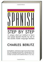 Spanish Step-by-Step by Charles Berlitz (Paperback) learn conversational Spanish