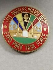 1984 LAPD EXPO PARK TASK FORCE OLYMPIC GAMES POLICE PIN