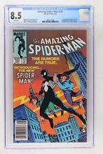 Amazing Spider-Man #252 - Marvel 1984 CGC 8.5 - Newsstand!
