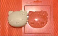 """Hello Kitty 1"" plastic soap mold soap making mold mould"