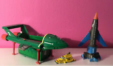 More details for vintage matchbox thunderbirds 1, 2 & 4 die-cast toy models 1992