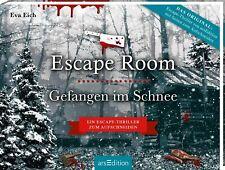 Eva Eich / Escape Room. Gefangen im Schnee. Das Original: Der neue Escape-Ro ...