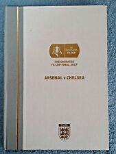 2017 - HARDBACK FA CUP FINAL PROGRAMME - ARSENAL v CHELSEA - LTD EDITION OF 2320